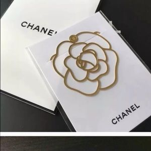 CHANEL Makeup - ❤️Chanel  Gold Tone Metal Bookmark